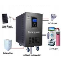 5000Wp - Solar & Wind Power Solution