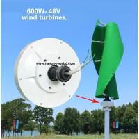 Wind Turbine Generator 600W