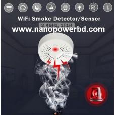 WiFi Fire,Smoke,Temperature Detector