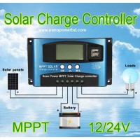 Solar MPPT-PWM Charge controller