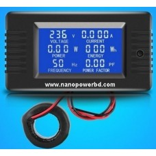 Digital Voltage Current volt amp Meter Watt Kwh Power Energy Voltmeter Ammeter