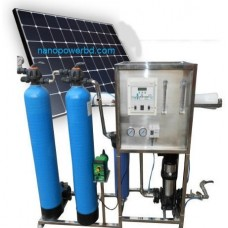 Solar water treatment plant