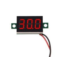 0.36 Mini Digital Voltage Meter Red